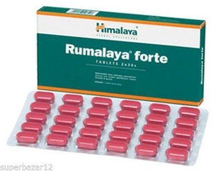 5 Box Himalaya Herbal Rumalaya Forte Herbal Ayurvedic Arthritis Joint Care Each Box Contain 60 Tablests Total 300 Tablets