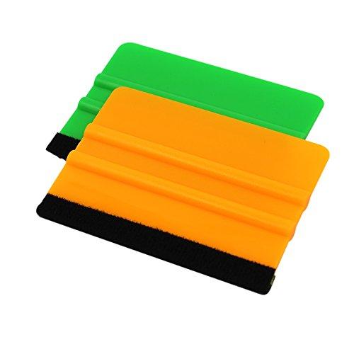 aumo-mate-2pcs-high-quality-hand-applicator-felt-edge-squeegee-green-orange