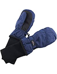 Kids Waterproof Stay On Winter Nylon Mitten