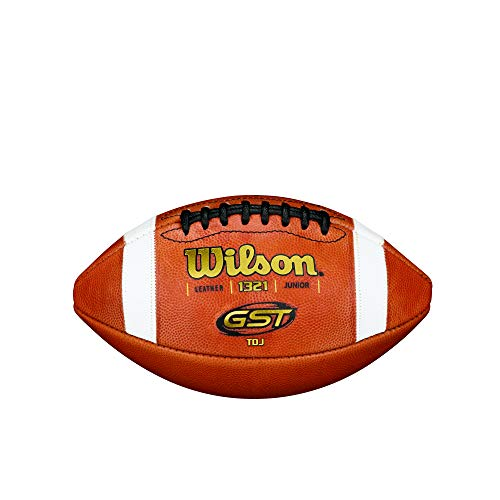 Wilson TDJ GST Leather Football - Junior