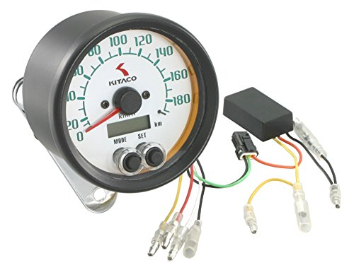 キタコ(KITACO) 電気式スピードメーター(80φ) 汎用(12V車用) 752-0710010   B003VV0JWY