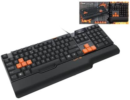Trust GXT 18 Gaming Keyboard ES: Amazon.es: Informática
