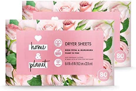 Dryer Sheets: Love Home & Planet