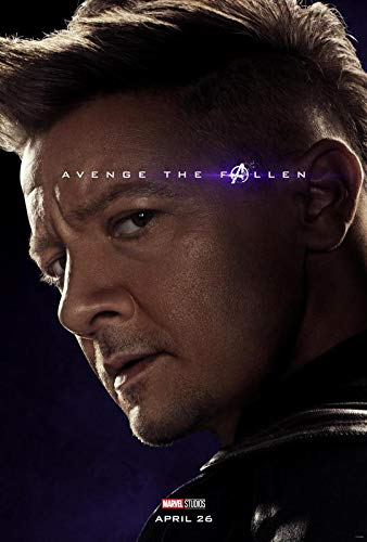 30cm x 43cm The Avengers Endgame U.S Movie Wall Poster Print 12 Inches x 17 Inches