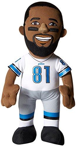 Bleacher Creatures NFL Detroit Lions Calvin Johnson Player Plush Doll, 6.5-Inch x 3.5-Inch x 10-Inch, Blue