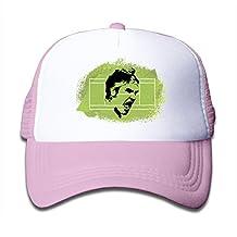 Toddler Mesh Cap Baseball Hats Roger Federer Tennis Adjustable