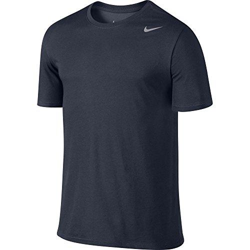 T Nike cotonmanches shirt mat Dri 0bleuobsidienneargent Homme en Fit courtes 2 m0yvnN8wO