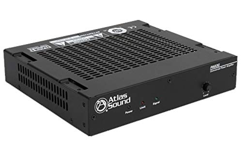 Atlas Sound PA60G 60W Single Channel Power Amplifier with Global Power - Atlas Single