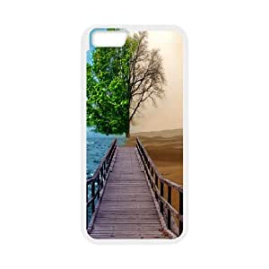 IPhone 6 Plus Cases Sea Mirage Shing House, Luxury Case for Iphone 6 Plus Case - [White] Okaycosama