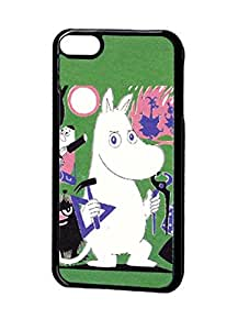 Ipod Touch 6th Generation Carcasa Ancient Style Moomin Cartoon Movie Logo Printed Good-Looking Hybrid Skin Shell