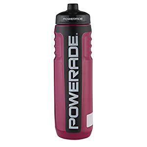 Powerade Premium Squeeze Water Bottle, 32 oz, Twisted Blackberry