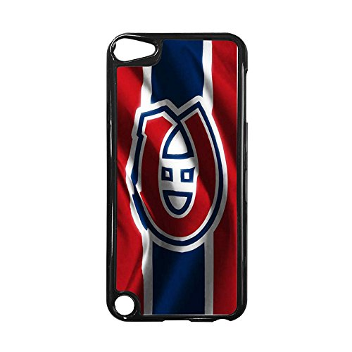 NHL Team Logo-Ipod Touch 5th Case Montreal Canadiens for Boys, Gorgeous NHL Montreal Canadiens Silicone Case Cover for Ipod Touch 5th Scratch Proof NDMJIE