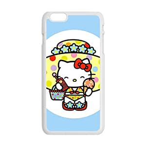 SANLSI Hello kitty Phone Case for iPhone 6 Plus Case