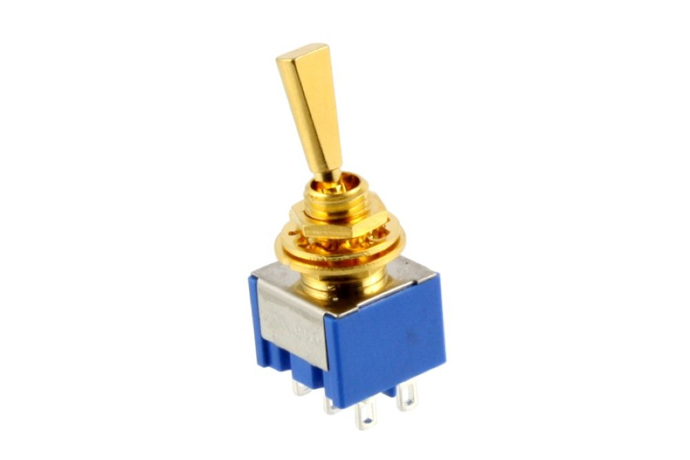 Allparts EP-0080-002 Gold On On On Mini Switch 671011