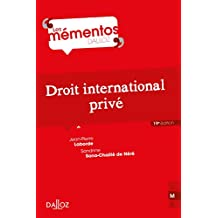Droit international privé (Mémentos) (French Edition)