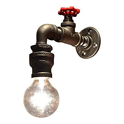 Industrial Faucet Sconce