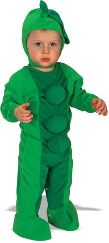 Rubie's Costume EZ-On Romper Costume, Pea In The Pod, 6-12 Months
