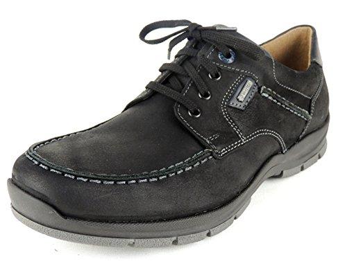 Fretz Men Chaussures de Ville à Lacets Pour Homme Noir Noir