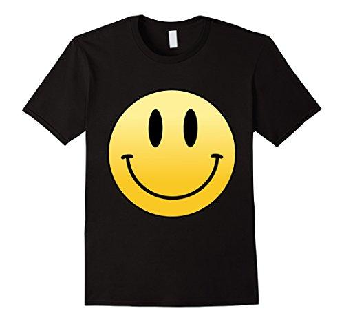Mens Mr Happy Smiley Face - T-Shirt XL (Happy Face T-shirt)