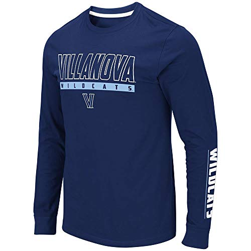 (Colosseum Mens Villanova Wildcats Guam Long Sleeve Tee Shirt - M)