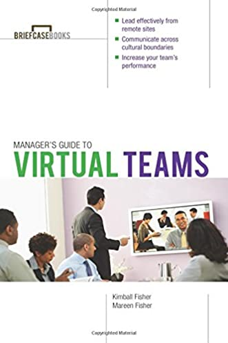 manager s guide to virtual teams briefcase books kimball fisher rh amazon com