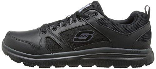 Advantage Work Men's Slip Oxford Skechers Sneaker Flex Resistant q8CxnnvO6