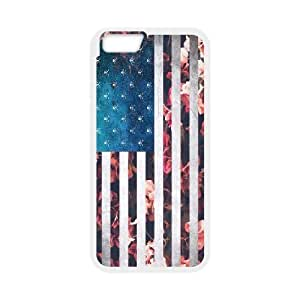 """Customised iPhone6 4.7"""" Case, Usa Vintage Flags quote personalised Cover Case"""
