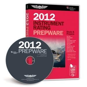 ASA 2012 Instrument Rating Prepware Software on CD