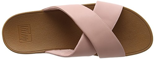 Fitflop Plataforma Rosa leather Pink Para Mujer Cross Slide Lulu Con Sandalias dusky Hw7YzHqr