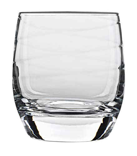 Old Bormioli Glass Luigi Fashioned - Luigi Bormioli Set of 4 Romantica Double Old-Fashioned Glasses, 12.75-Oz.