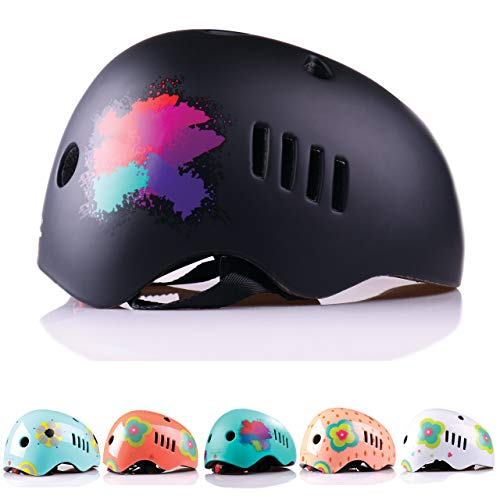 Naranja Minimalista Kids, Toddler and Infant Bike Helmet for Ages 3-14 from Lightweight and Impact Resistant PC Outer Shell Material and CPSC Safety Certified - Ideal for Boys and Girls
