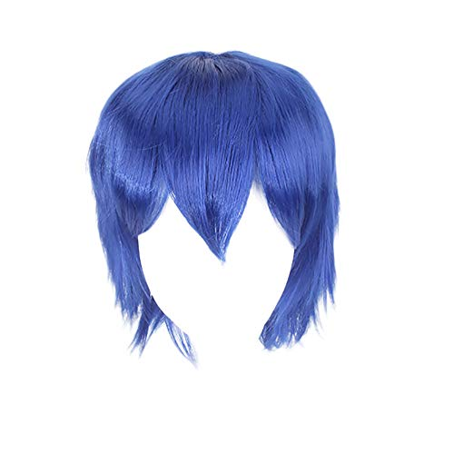 Animated Fanatics Role Playing Wigs Men And Women Neutral Wigs 36cm ()