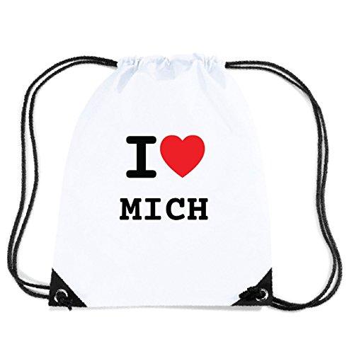 JOllify MICH Turnbeutel Tasche GYM6169 Design: I love - Ich liebe SgiLCgIfZR