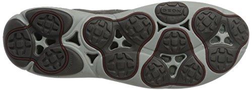 Geox U Nebula C, Zapatillas para Hombre Gris (Anthracite)