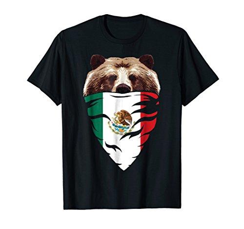 Mexico Jersey Shirt - Mexican Football T-Shirt - Mexican Bear
