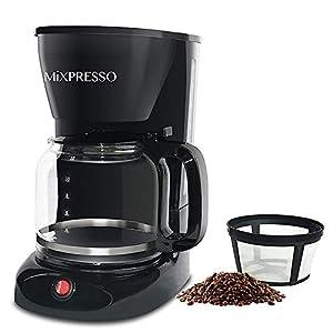 12-Cup Drip Coffee Maker, Coffee...