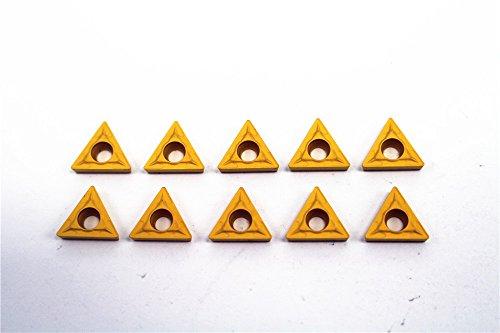 10pcs TCMT110204-HM P7211 Carbide Incerts Cutting Tool Iathe CNC Steel