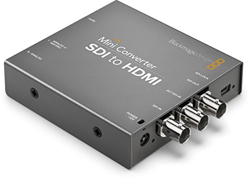 Blackmagic Design Mini Converter SDI to HDMI with Embedded Audio by Blackmagic Design