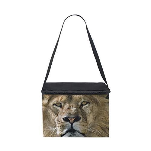 lunch pour Lion déjeuner nique Male pique Sac à Portrait Bandoulière à Boîte Cooler 7SOA11n