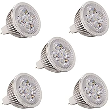 WELSUN MR16 LED Light Bulbs,AC/DC 24V 36V 4W,350-400lm