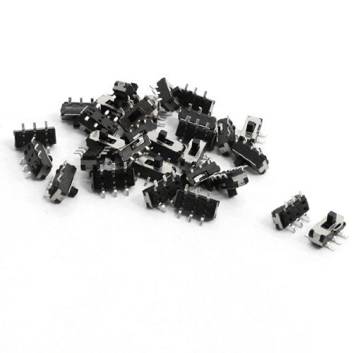 (30pcs 9x3.6x5.2mm SMT SMD Self Locking Micro Slide Tact Tactile)