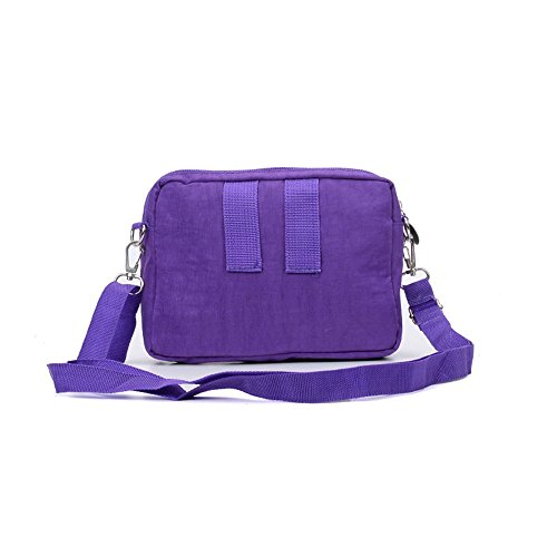 Body Solid Portable SALLY Travel Bag Light Purple Messenger YOUNG Cross Bag Casual Women qCawf