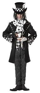 California Costumes Men's Dark Mad Hatter Costume,Multi,Medium
