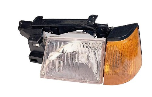 - Depo 330-1106L-USC Ford Escort Driver Side Replacement Headlight Unit with Corner Light