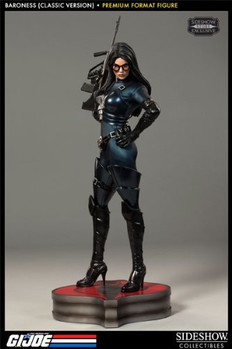 Sideshow Collectibles - G.I. Joe Premium Format Figure 1/4 Baroness 57 cm by Sideshow (Cobra Baroness Costume)