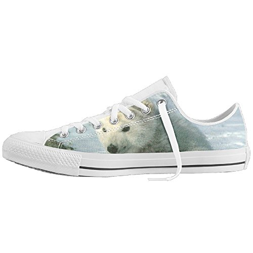 Polar Bear Costume Diy (Polar Bear Baby Low-Cut Canvas Shoes Unisex Sneaker-All Season Casual Trainers For Men And Women ColourName Sizekey)
