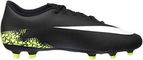 Nike 844429-017, Botas de Fútbol para Hombre Negro (Black / White / Volt / Paramount Blue)