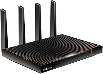 NETGEAR Nighthawk Cable Modem WiFi Router Combo - Compatible with Cable Providers Including Xfinity by Comcast, Cox, Spectrum | Cable Plans Up to 2 Gigabits | AC3200 WiFi Speed | DOCSIS 3.1 (C7800)
