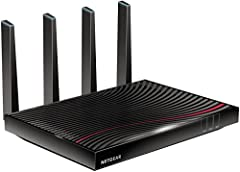 The Nighthawk X4S AC3200 Wi-Fi DOCSIS 3. 1 Cable Modem Router with 32x8 channel bonding delivers up to 3. 2Gbps Wi-Fi speeds even during peak hours.