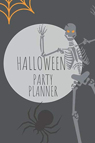 Halloween Party Planner: Party planning Journal for Halloween - October Planning Halloween Themed Journal ()